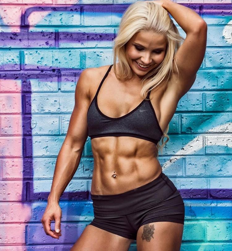 Jaz Correll fitness girl