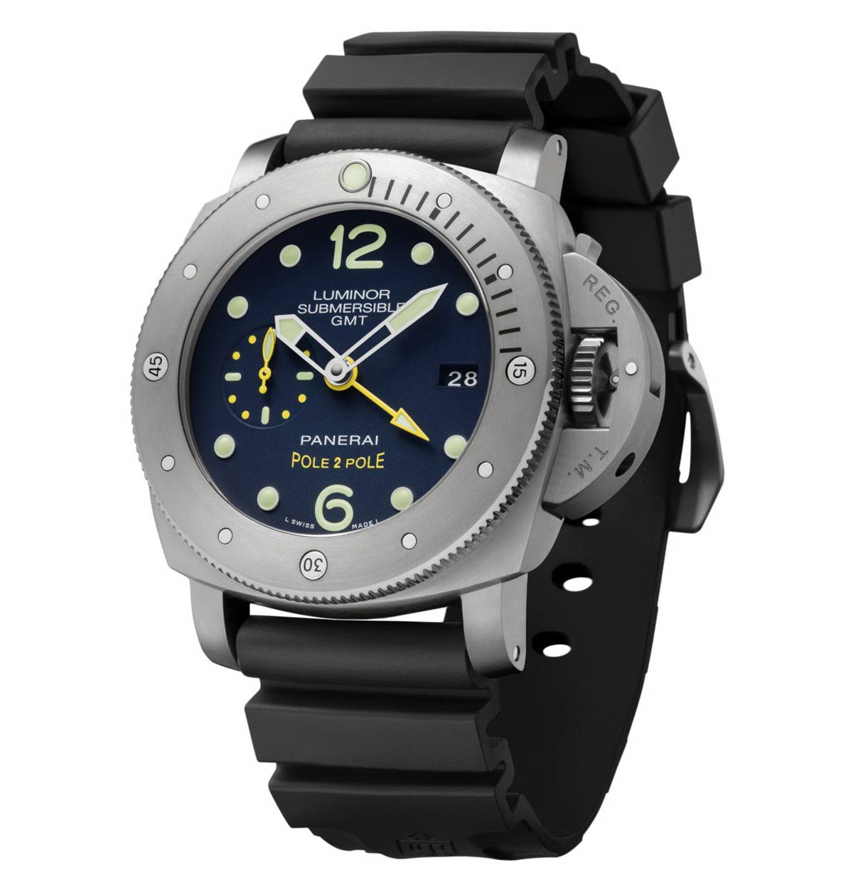 Officine Panerai Luminor Submersible 1950 3 Days Gmt