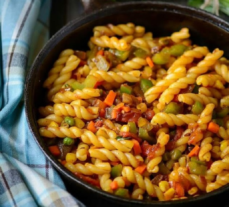MASALA PASTA WITH VEGGIES