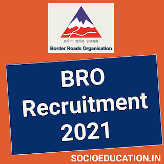 BRO Recruitment 2021 @www.bro.gov.in