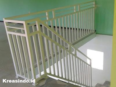 Harga Railing Balkon Besi Minimalis, Railing Balkon Besi Tempa dan Pintu Tangga Besi  Terbaru
