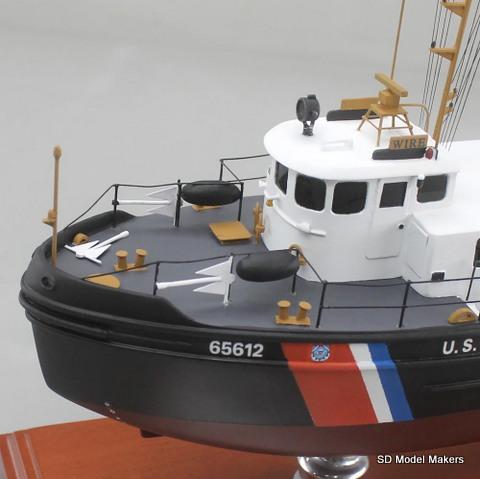 "18"" US Coast Guard Harbor Tug Replica Model | SD Model Makers"