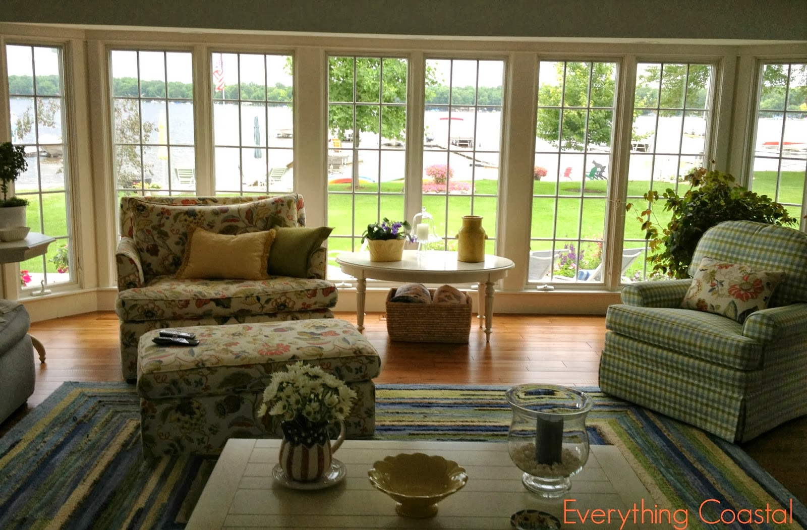 Everything Coastal....: A Michigan Lakefront Storybook Cottage