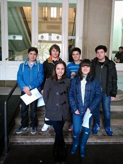 participantes en el Concurso de Jóvenes Talentos de relato corto. coca-cola