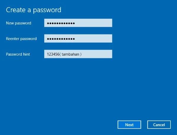 cara merubah kunci layar komputer laptop
