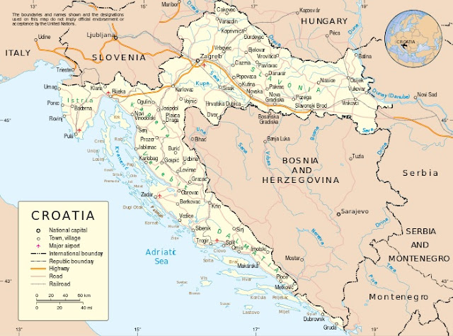 Croatia establishes a 14-day quarantine for four Balkan countries, including Kosovo
