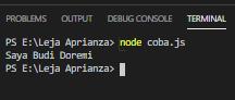 JavaScript : Case Sensitivity pada Variabel - JS0008