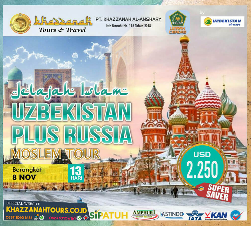 MUSLIM TOUR UZBEKISTAN & RUSIA
