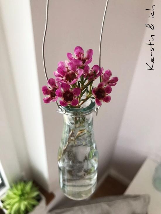Deko Wohnen Friday Flowerday Wachsblumen