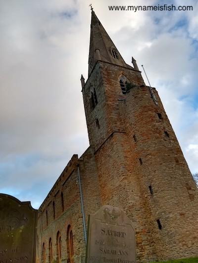 Brixworth Eagle Church tower