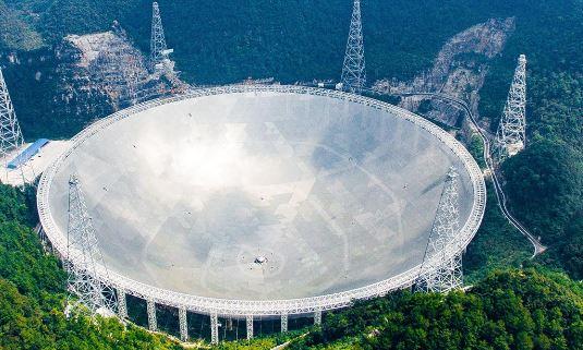 تلسكوب سريع في الصين