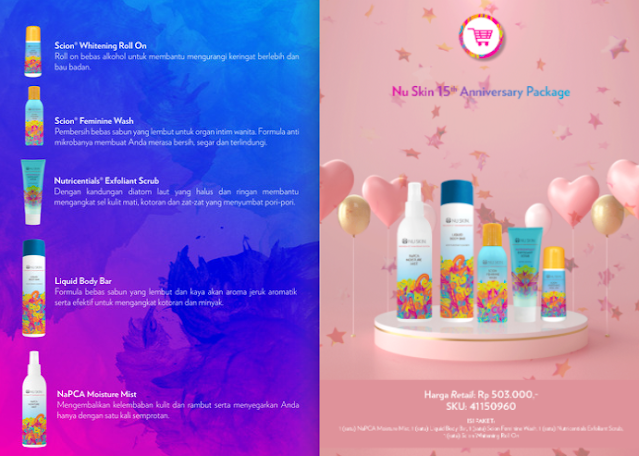 Promo Nu Skin Anniversary Package November 2020