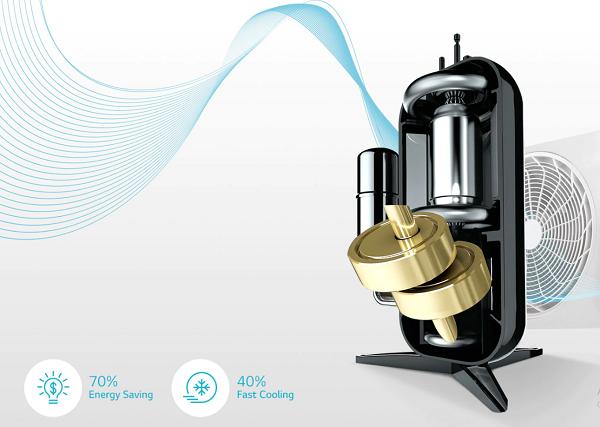 Fitur AC hemat energi dari LG Dual Cool Series
