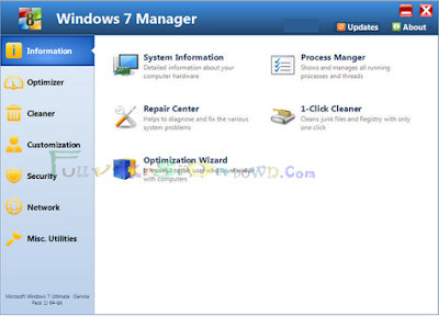 Windows 7 Manager Full Version