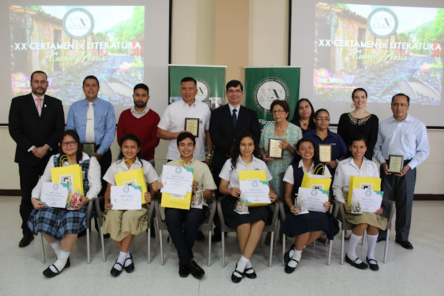 Nueva Acrópolis entrega becas universitarias en XX Certamen de Literatura en Cuento y Poesía Santa Ana, El Salvador