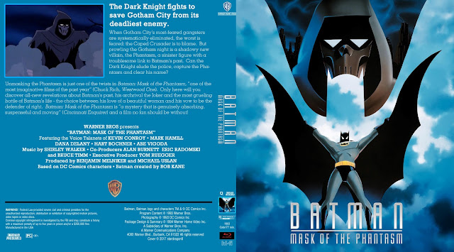 Batman: Mask of the Phantasm Bluray Cover