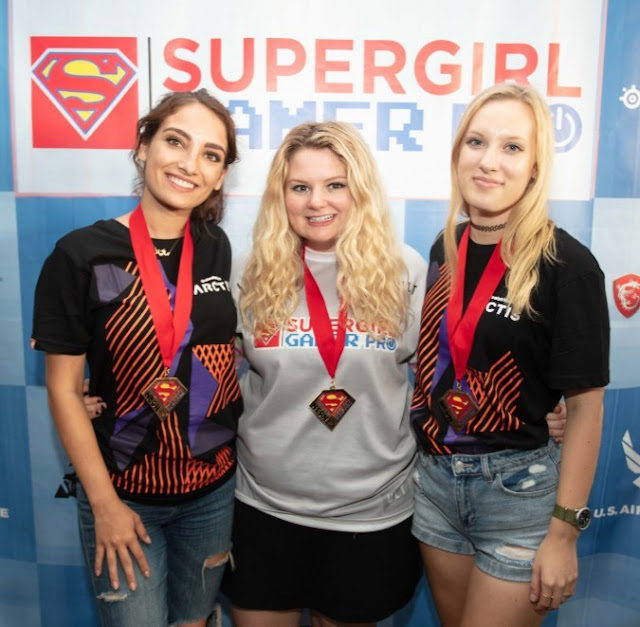 Super Girl Gamer Pro returns for its third year as part of the 13th annual Nissan Super Girl Pro Festival, July 26-28, 2019, at the Oceanside Pier in Oceanside, Calif. Super Girl Gamer Pro is the only multi-title all-female esports tournament in the U.S. It was developed to provide a safe platform for female gamers and inspire women to take a larger role within esports.