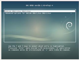 Debian Live Testing instalador Calamares