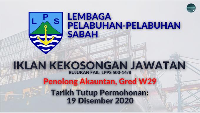 SabahJobs: Iklan Kekosongan Jawatan di Lembaga Pelabuhan-Pelabuhan Sabah. Tarikh Tutup 19 November 2020