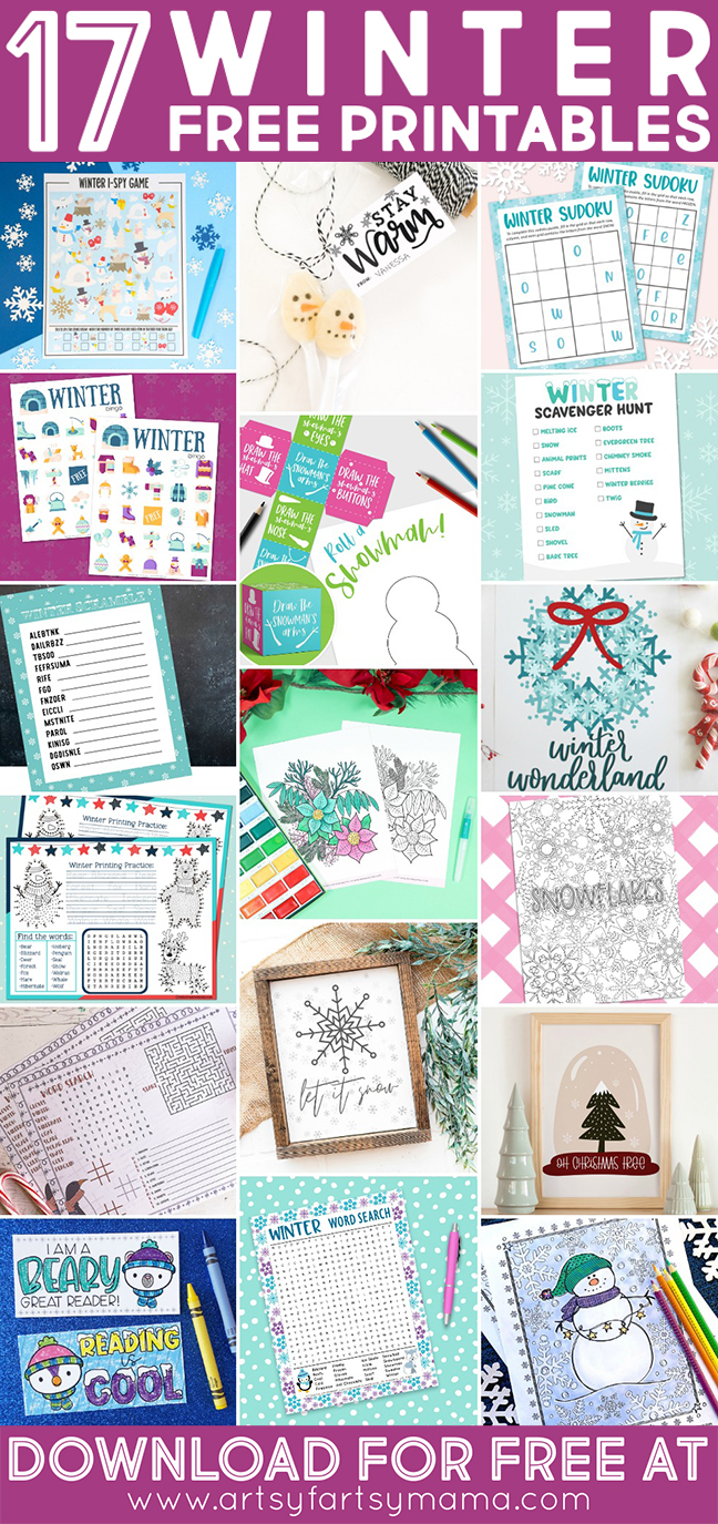 17 Free Winter Printables