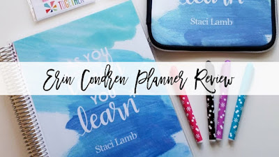 Erin Condren 2018-2019 Teacher Lesson Planner Review