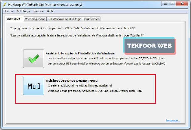 تحميل برنامج حرق الويندوز 7 على الفلاشة wintoflash اخر اصدار
