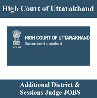 High Court of Uttarakhand, UK, UK High Court, High Court, Uttarakhand, District & Session Judge, Judge, Graduation, freejobalert, Sarkari Naukri, Latest Jobs, uk high court logo
