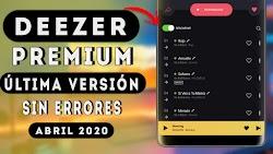 DEEZER PREMIUM V6.1.24.2 ULTIMA VERSION SIN ERRORES