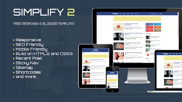 Simplify 2 Responsive Blogger Template