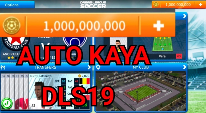 2 Cara Cheat Koin Dream League Soccer 2021 Tanpa Root ...