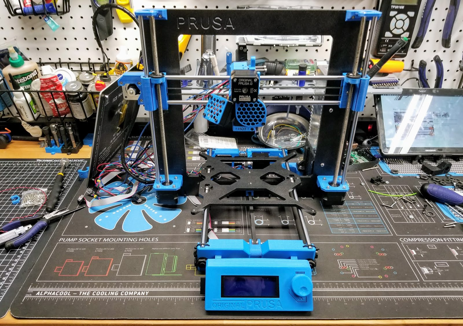 Mr  Armageddon's Project Log: Prusa i3 MK2s 3D Printer
