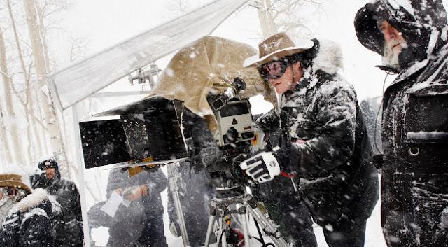 El rodaje de Los Odiosos 8, noticias de cine