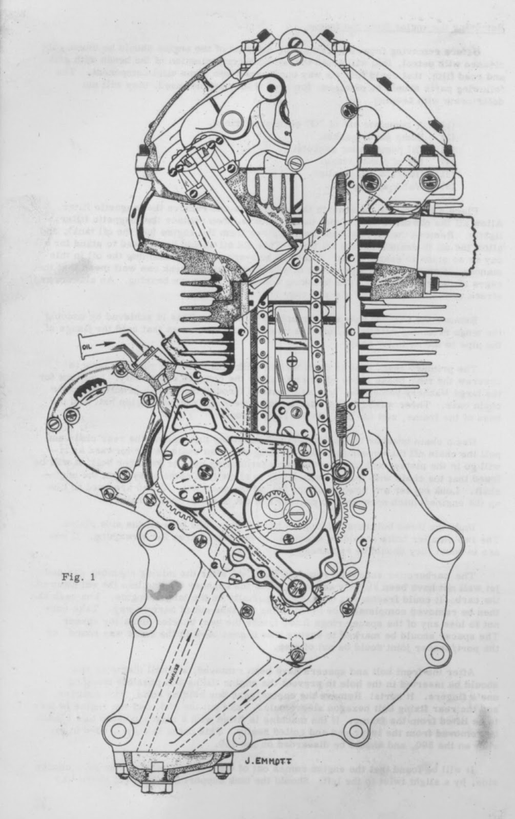 Matchless Motorcycle Engine Diagram Wiring Diagrams Ajs With Snowmobile