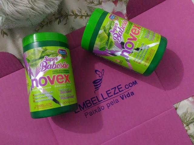 Creme SuperBabosão Tratamento Ultraprofundo Novex - Embelleze