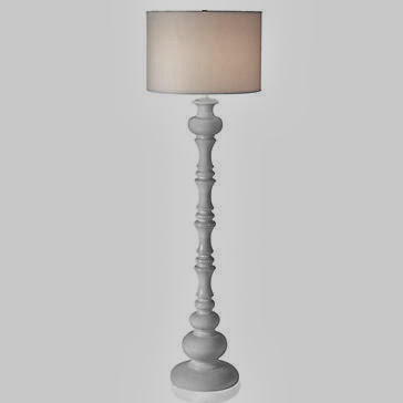 Gallery White Floor Lamp Nursery