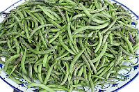 French beans can be used if available in this home made Chinese vegetable soup.