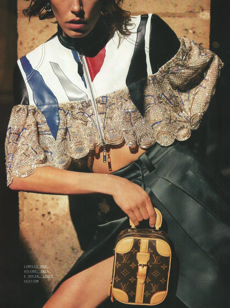 Editorial de moda Louis Vuitton em Paris