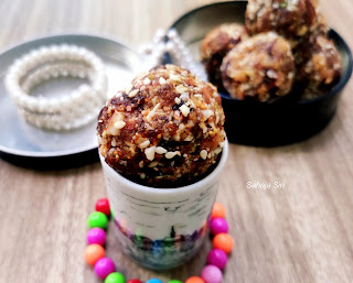 Dry fruits laddoo