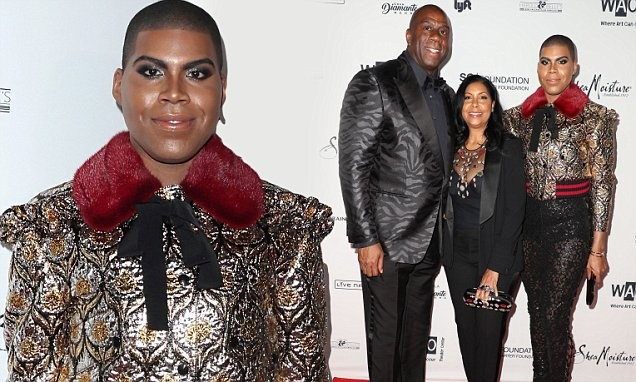 Magic Johnson broke down and cried when his son EJ came out as Gay (Video)