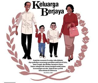 [SARKASME] Anak & Menantu Jadi Wali Kota, Jokowi Layak Dapat Penghargaan MURI