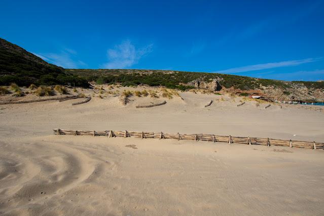 Spiaggia di Cala Domestica-Dune