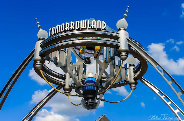 Tomorowland at Magic Kingdom