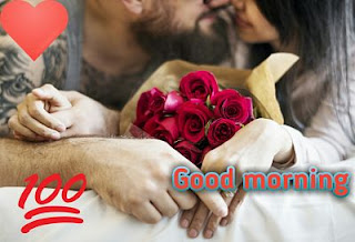 Romantic Couple Good Morning Love Picture DP For Facebook Whatsapp