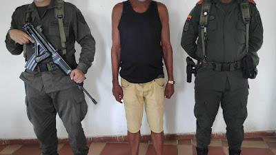 Por pegarle a su mujer capturan a un hombre de 28 años en Bagadó