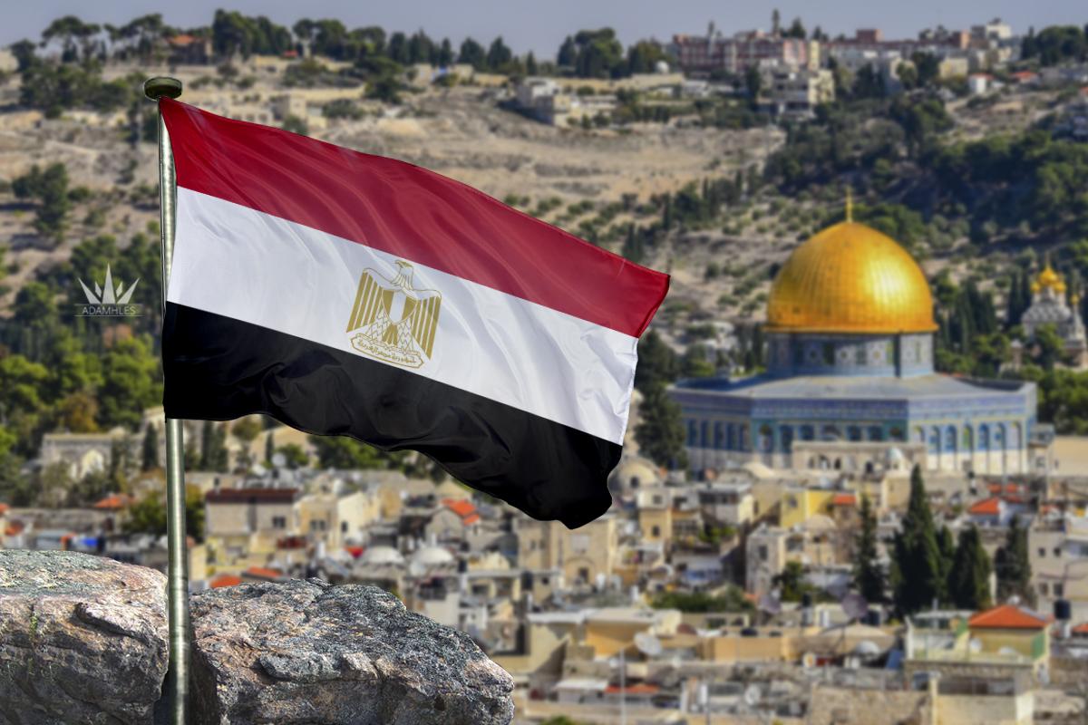 علم مصر في القدس اجمل خلفيات مصر Flag of Egypt in Jerusalem
