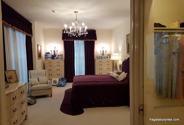 Dormitório dos pais de Elvis Presley em Graceland