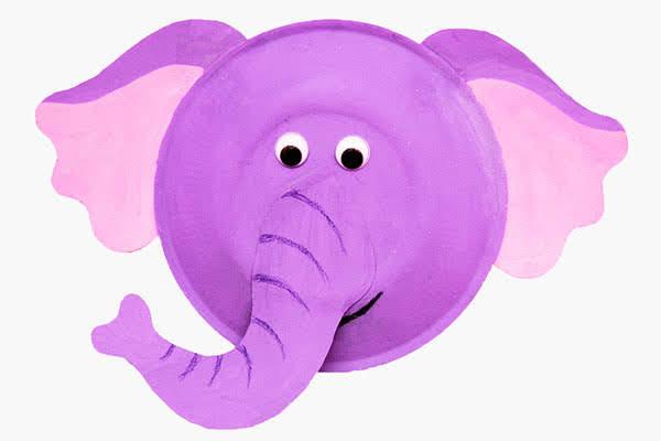 Piring Kertas Gajah