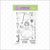 FBS Rain Or Shine ~ Little Darlings 4x6 Clear Stamp Set