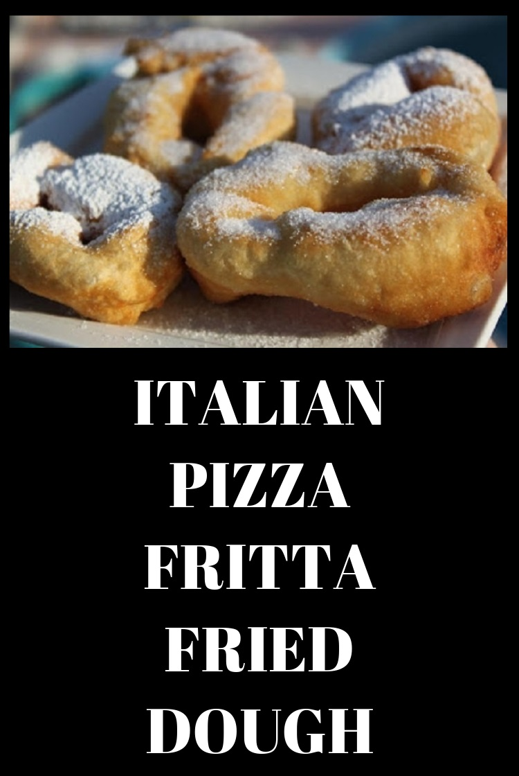 this is  an Italian Fried bread dough also know as zeppole fried in oil and sprinkled with sugar or powdered sugar found at most Catholic feasts and carnivals