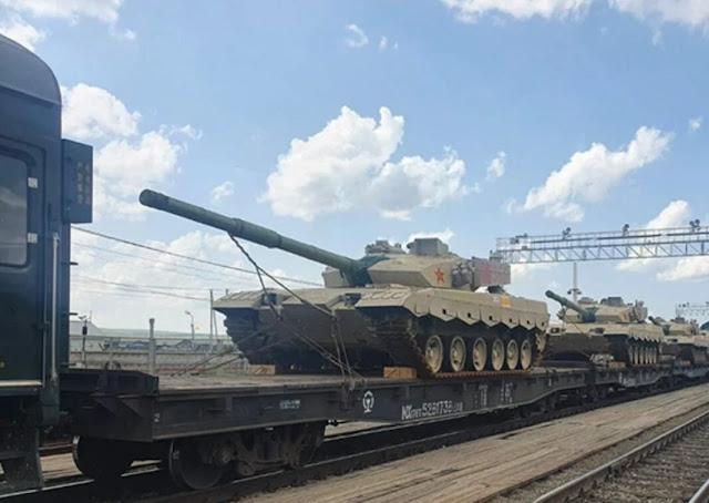Type-96 của Trung Quốc đến Nga